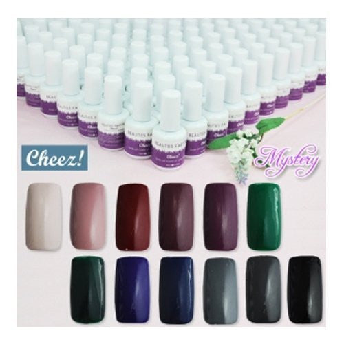 """Mystery"" Series Cheez! Soak-off Color UV Gel Polish CODE..."