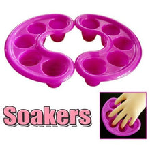 New Manicure Soak Bowl For Acrylic Nail Art Tips Nail Treatment Acetone Liquid Nail Polish Remover Tool