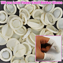 100 Protective Latex Finger Nail Small Rubber Gloves CODE: #550