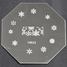 Nail Art Stamping Plate - HB23 CODE: HB23-Plate