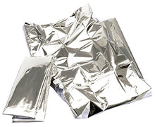 Hive of Beauty Hygienic disposable Foil Space Thermal Sheet Blanket Silver Color CODE: HBA0500