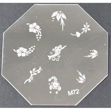 Nail Art Stamping Plate - M72 CODE: M72-Plate