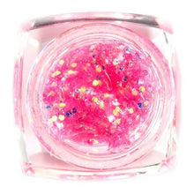 BF New Professional Pink Big Glitter UV Gel Acrylic Nail Art Tips Design UV Gel Builder