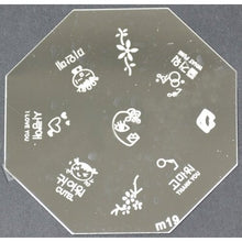Nail Art Stamping Plate - M19 CODE: M19-Plate