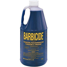 Barbicide Disinfectant Blue Solution Germicide Anti Rust 64oz Manicure Table Jar CODE: BRE-005 by Barbicide