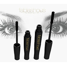 The Original Fablashous 3D Thickening and Lengthening Black Natural Green Tea Fibre Lash Mascara Extensions In Luxury Embossed Patterned Display Case