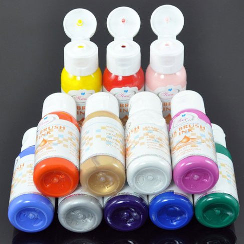 Airbrush Paint (Professional Quality) x 12 colors CODE: #109N