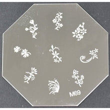 Nail Art Stamping Plate - M69 CODE: M69-Plate