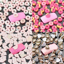 """Hot Donut"" Nail Art Decoration x 100pcs CODE: #863F"