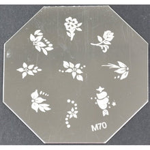 Nail Art Stamping Plate - M70 CODE: M70-Plate