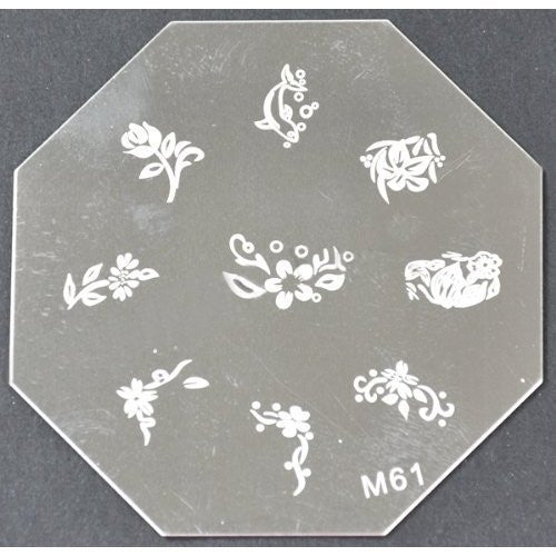 Nail Art Stamping Plate - M61 CODE: M61-Plate
