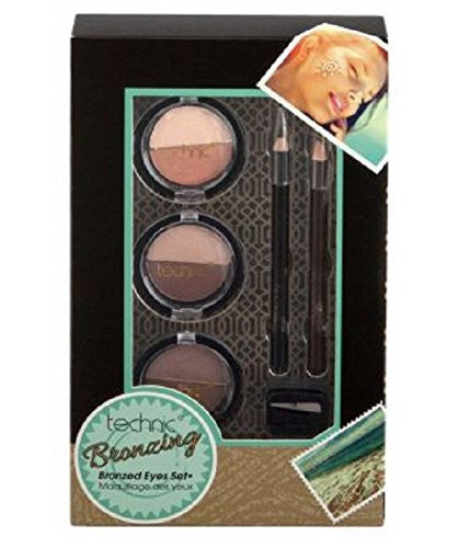 Technic Bronzing Bronzed Eyes Trio Set 95254