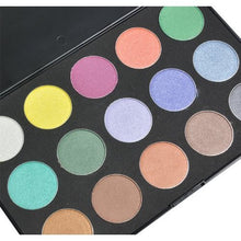 Style Fifteen - 15 COOL SHIMMER MIX COLORS EYESHADOW CODE: #829B