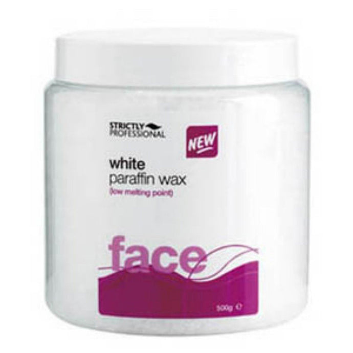 STRICTLY PROFESSIONAL - WHITE PARAFFIN WAX - 500g