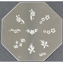 Nail Art Stamping Plate - M74 CODE: M74-Plate