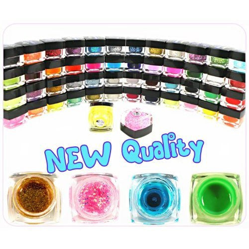 Full Set Color Gel x 50 colors CODE: #303