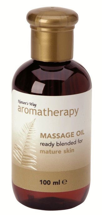 Natures Way Mature Skin Massage Oil 100ml