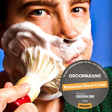 Groomarang Protective Shave Cream For Men - A Luxurious, Close Shave That Leaves Your Skin Feeling Soft, Smooth & Refreshed - 100% Natural Face Skin Care Organic & Vegan