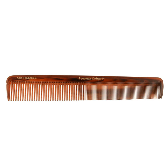 Uppercut Deluxe Tortoise Comb Barber Supplies Styling Tool for Men UTC01