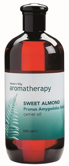 Natures Way Aromatherapy Sweet Almond Carrier Oil 500ml CODE: NWA0160