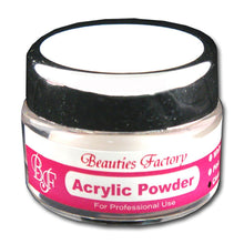 BF New CLEAR Nail Art Acrylic Powder Premier Quality CODE: #272A_one_bottle