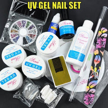 UV Gel Nail Set + Rhinestones CODE: #53