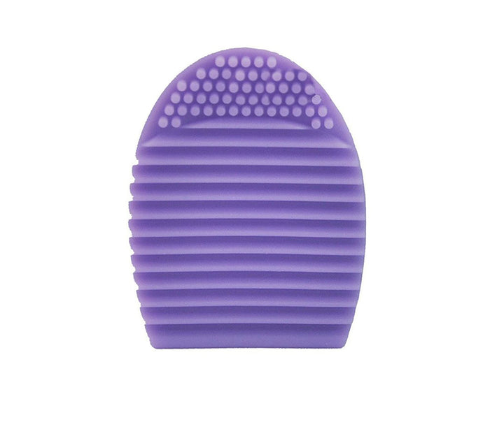 BF New Silicone Cleaning Cosmetic Makeup Brush Cleaner Scrubber Foundation Tool Violet CODE: 818V