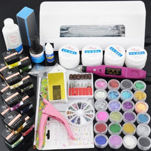 BF New Professional ALL-IN-ONE UV Gel Nail Lamp Electric Nail Drill Set #962