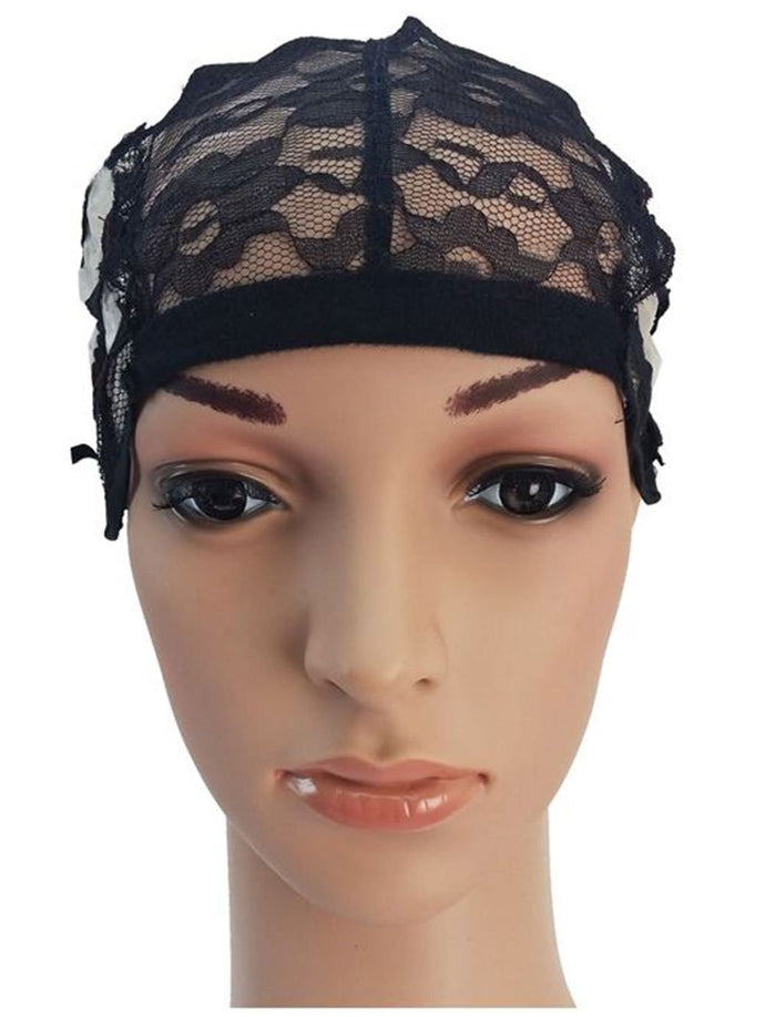 BF Full Lace Wig Caps Weaving Cap Wig Making Stretch Net Cap w straps NEW CODE: #1232