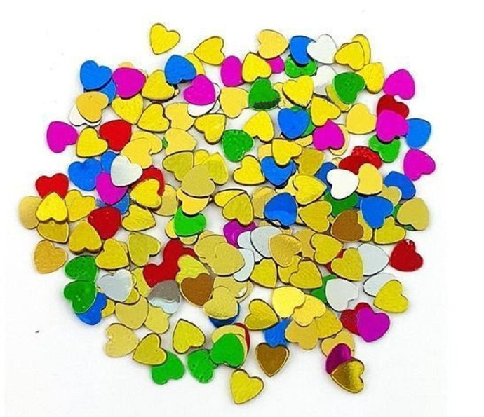 1200PCS 2D Nail Art Tips Rhinestones Heart Slices DIY Decoration Manicure CODE: #1003D