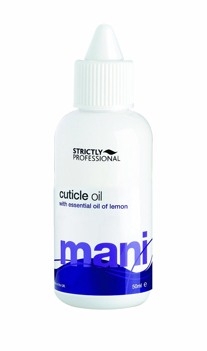Strictly Professional Creamy Oil With Essential Oil of Lemon Reduces Dryness in the Cuticle 50ml
