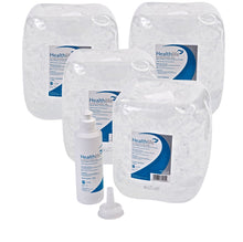 HEALTHLIFE Ultrasound Gel Bulk Buy Wholesale 5 Litres with refill bottle - Clear