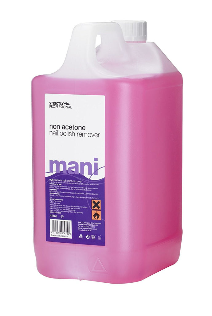 Strictly Professional Non Acetone Polish Remover 4 Litre