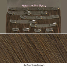 BF Professional 20 inch Clip in 100% Remy Human Hair Extension 100g #4 Medium Brown CODE: #1709