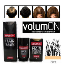 Volumon Professional Hair Building Fibres- Hair Loss Concealer- KERATIN- 12g- Get Upto 30 Uses- CHOOSE FROM 8 COLOUR SHADES (Blonde)