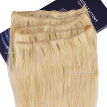 BF 20 Inch #613 Bleach Blonde Full Head Remy Human Hair Extension Non Clip-in Long Weft Hair403