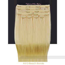 BF Professional 20 inch Clip in 100% Remy Human Hair Extension 100g #613 Bleach Blonde CODE: #1703