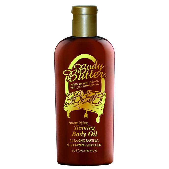 Body Butter Tanning Body Oil Bottle