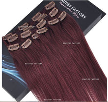 "18"" Hair Extensions #99J Cheryl Cole Red"