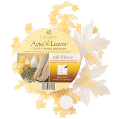 Cuccio Naturale Aqua Leaves Milk & Honey 6pck