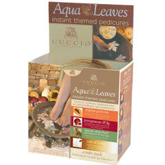 Cuccio Naturale Aqua Leaves Combo Pack
