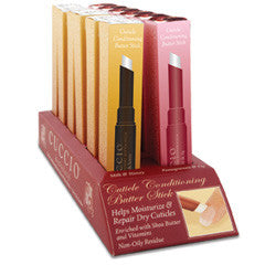 Cuccio Naturale Cuticle Conditioning Stick Display