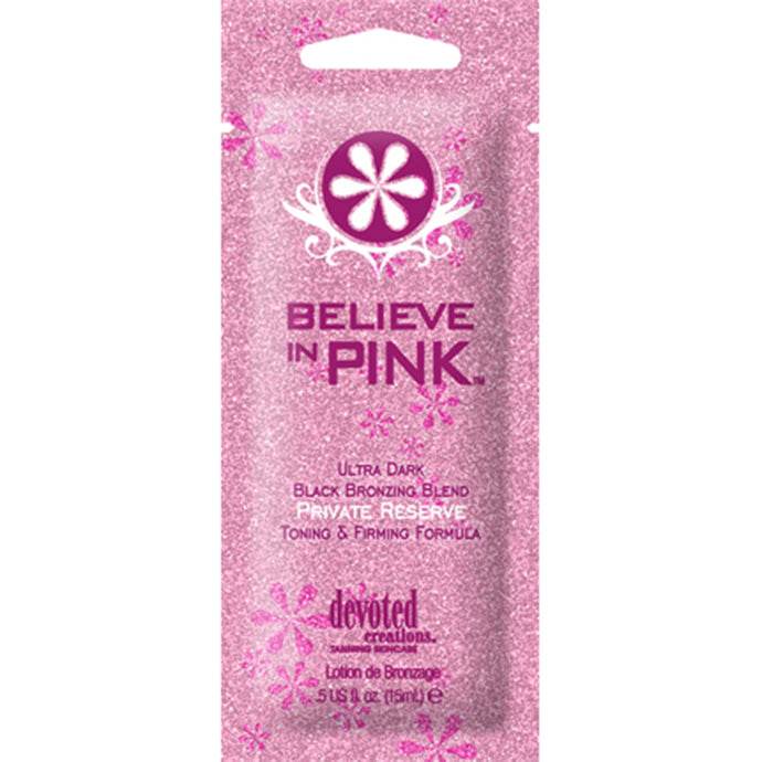 Devoted Creations Believe In Pink Private Reserve Bottle