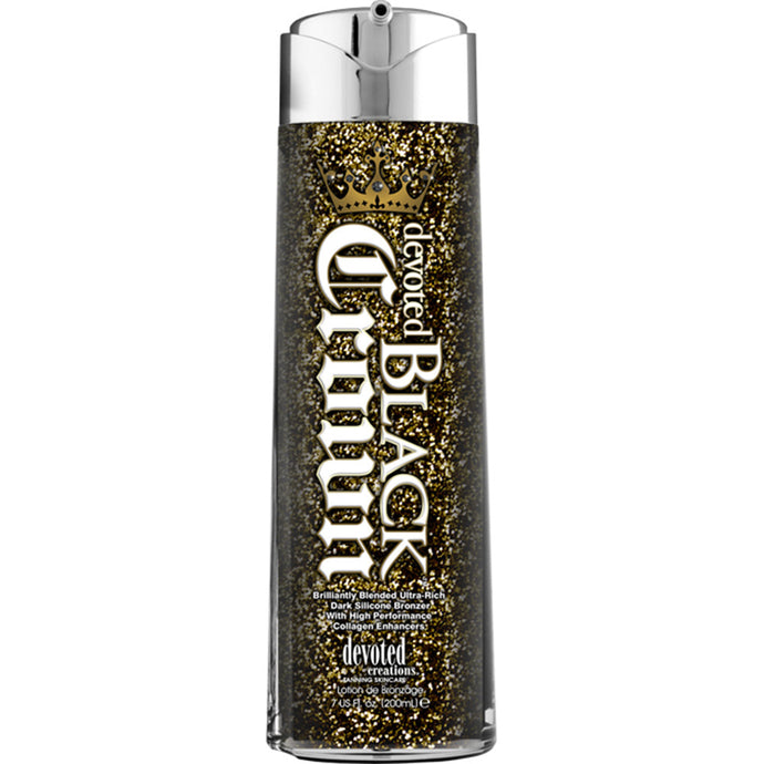 Devoted Creations Black Crown Bottle
