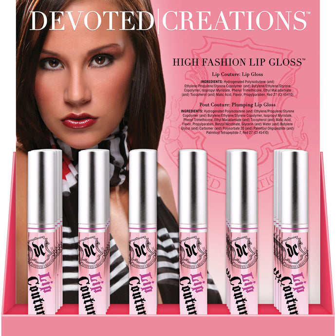 Devoted Creations Lip Couture Lip Gloss (36PC)