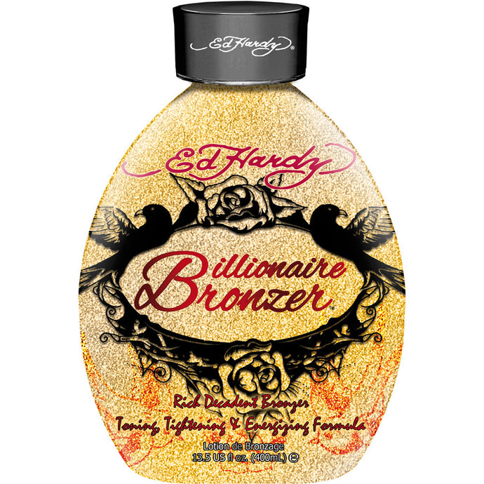 Ed Hardy Billionaire Bronzer Bottle