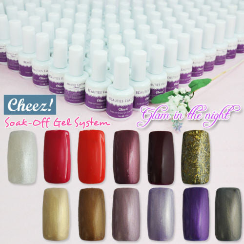 """Glam in the night"" Series Cheez! Soak-off Color UV Gel P..."