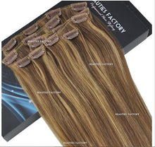"18"" Hair Extensions #6/27 Golden Brown/Butterscotch"