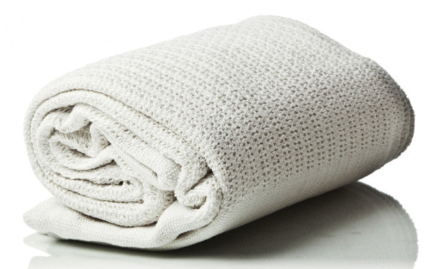 Cellular Blanket - White (60 x 80 inches)
