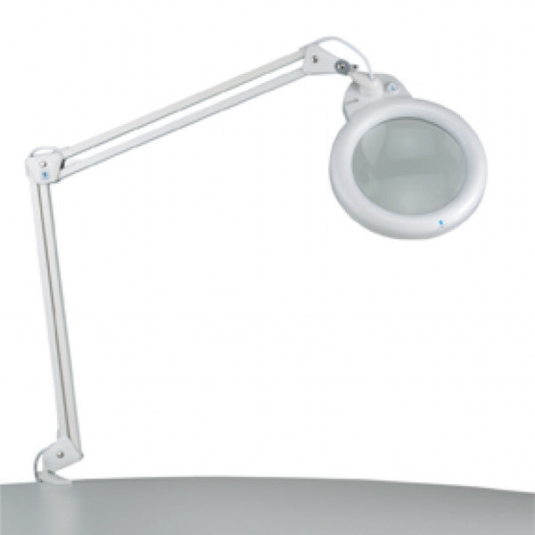 Slimline Magnifying 22W Lamp - White (H: 33 inches)